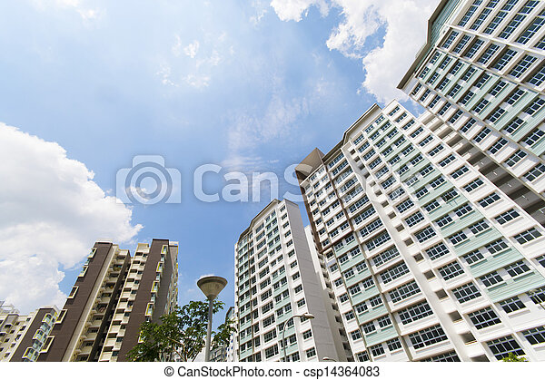 Singapore Government apartments - csp14364083