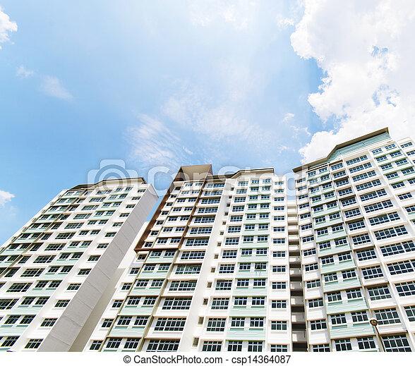 Singapore Government apartments - csp14364087