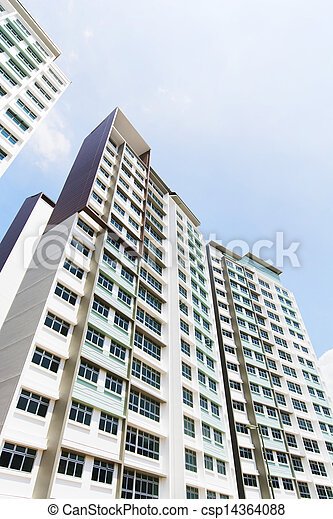 Singapore Government apartments - csp14364088