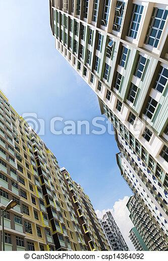 Singapore Government apartments - csp14364092