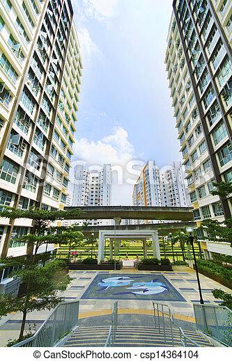 Singapore Government apartments - csp14364104