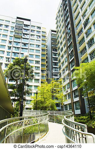 Singapore Government apartments - csp14364110