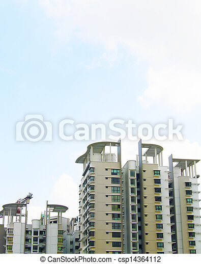 Singapore Government apartments - csp14364112