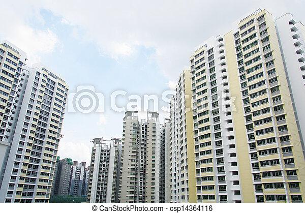 Singapore Government apartments - csp14364116