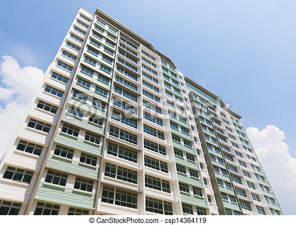 Singapore Government apartments - csp14364119