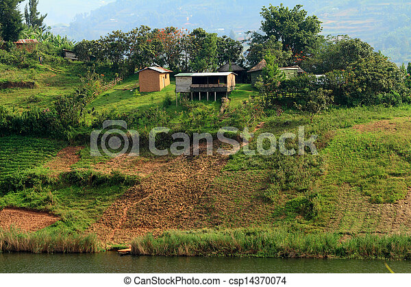 Rural Farming in Uganda - csp14370074