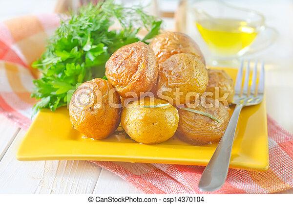 baked potato - csp14370104