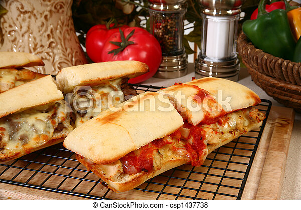 Toasted Submarine Sandwich - csp1437738
