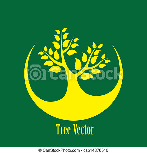 vektor clip art von begriff vektor graphic gelber