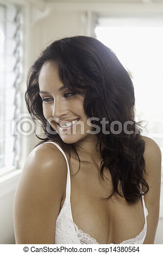 portrait of a beautiful woman - csp14380564
