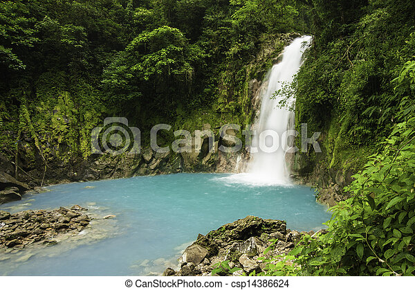 Waterfall-Rio Celested - csp14386624