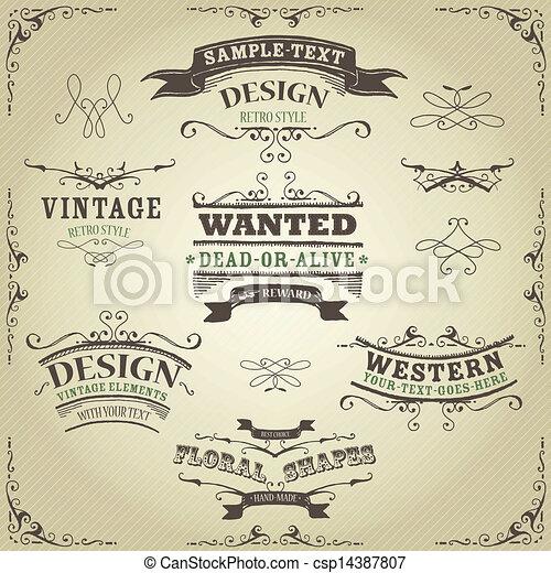 vintage western free clipart