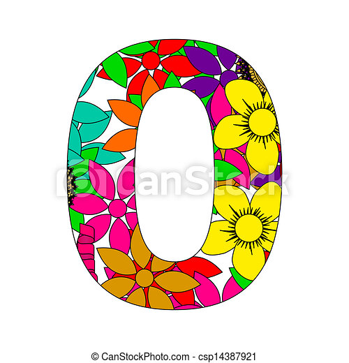 Number zero Illustrations and Clipart. 11,280 Number zero royalty ...