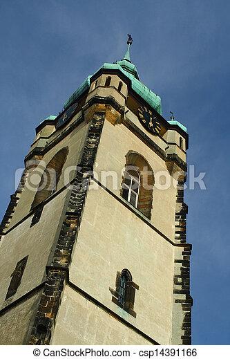 Melnik church tower - csp14391166