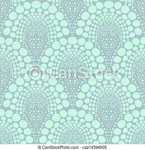 Bold dotted geometric pattern in art deco style - csp14394505