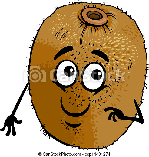 Clip Art Kiwi Clipart kiwi stock illustrations 6058 clip art images and royalty funny fruit cartoon illustration illustration