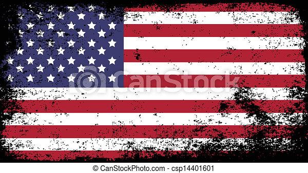 grunge flag - csp14401601