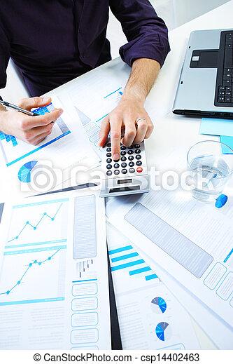 contabilidade, notas - csp14402463