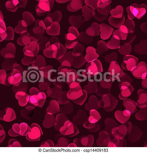 Valentine's Day romantic background. EPS 8 - csp14409183