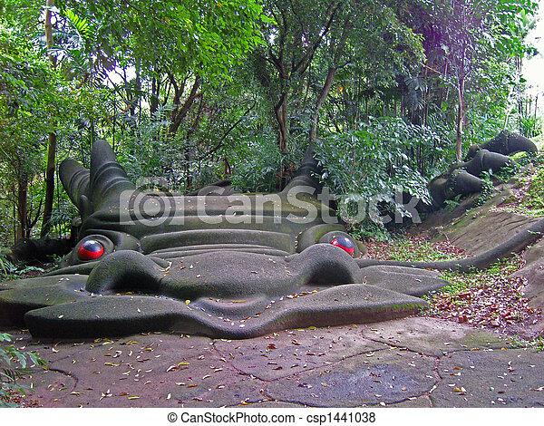 dragon bridge, Singapore - csp1441038