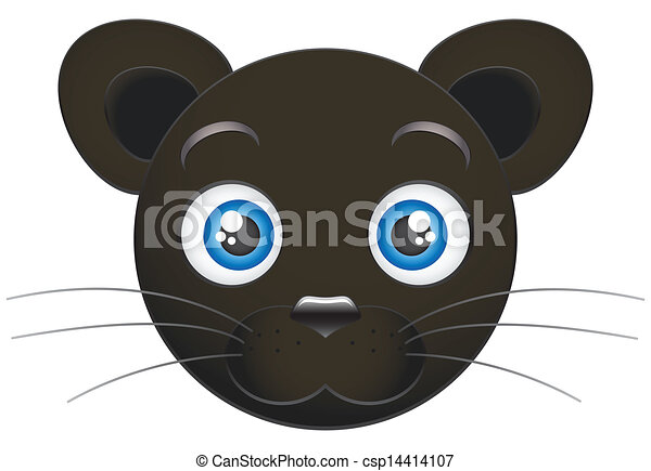 Panther Cub Clip Art