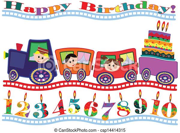 Birthday card - csp14414315