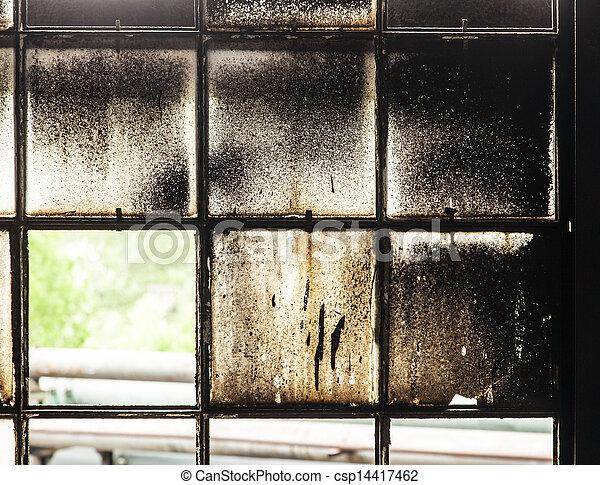 Stock Bild av gammal, mönster, industri, harmonic, bruten, fönster ...