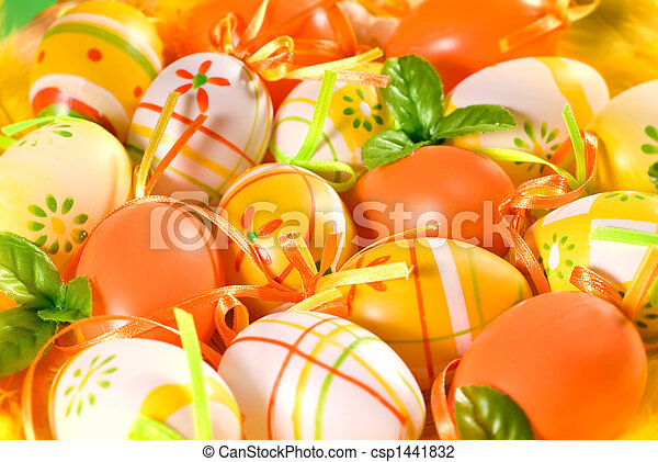 easter eggs - csp1441832