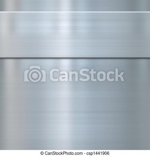 fine brushed steel metal - csp1441906