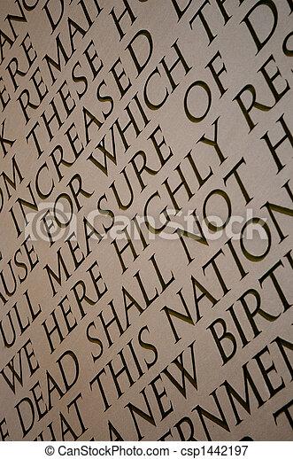 Lincoln Memorial - csp1442197