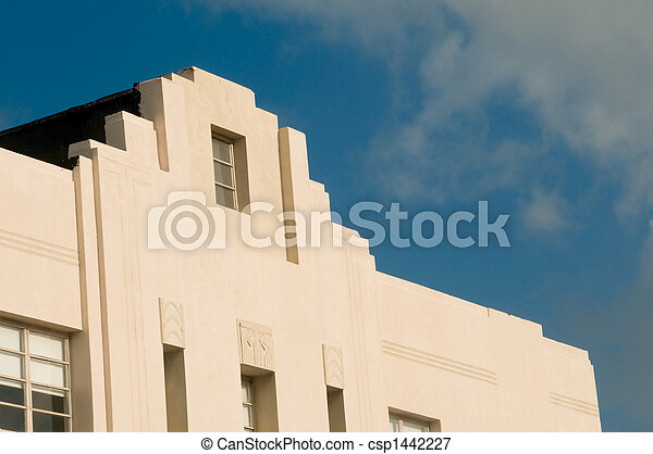 Historic Art Deco - Miami, Florida - csp1442227