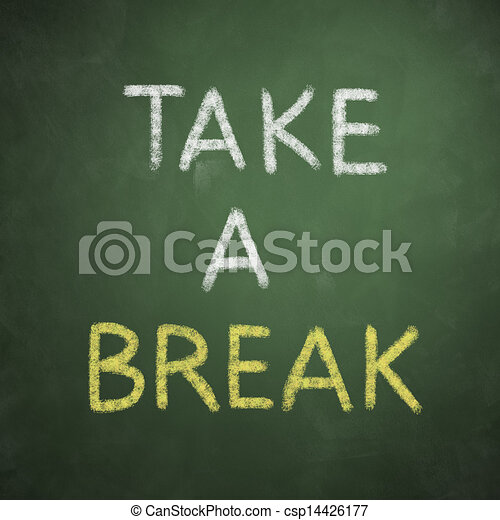Take a Break Icon Take a Break Csp14426177