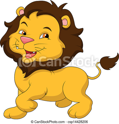 Baby Lion Drawing Illustrations And Stock Art 1711