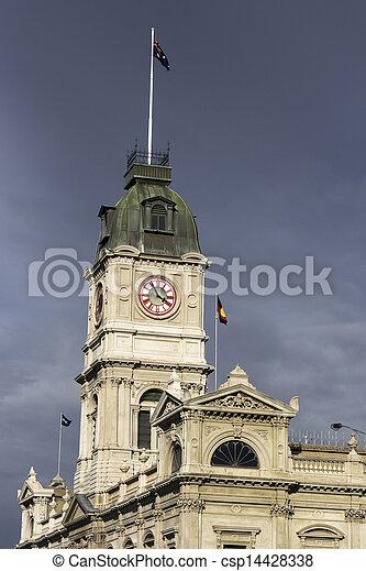Ballarat historic architecture - csp14428338