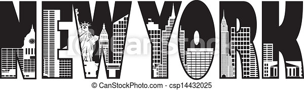 vector illustration of new york text skyline outline Dallas Skyline Graphic Dallas Skyline at Night