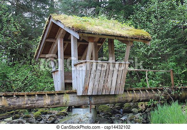 Troll Bridge in Alaska Park - csp14432102