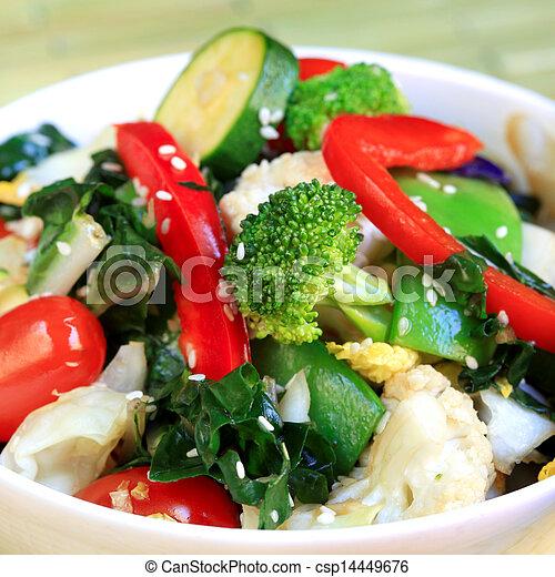 Stir Fry Vegetables - csp14449676