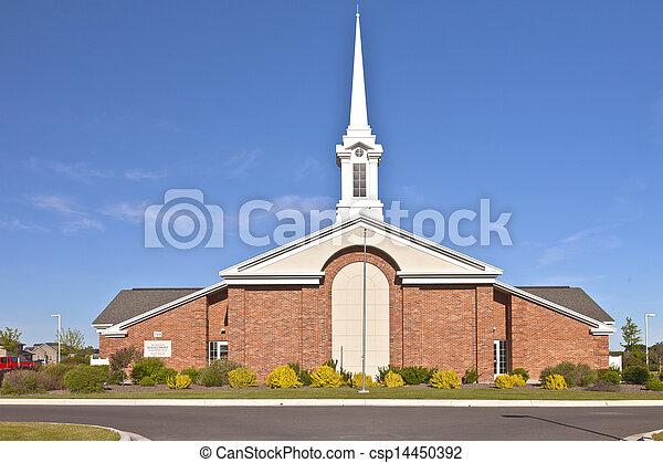 Church of Latter-day Saints in Twin Falls Idaho - csp14450392