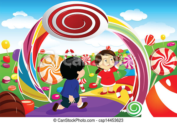 Candy land Clip Art Vector and Illustration. 176 Candy land ...