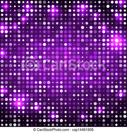 Purple Abstract Background With Circles Dark Stock