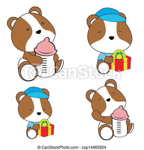 Illustration vecteur de hamster b b couche dessin - Hamster dessin anime ...