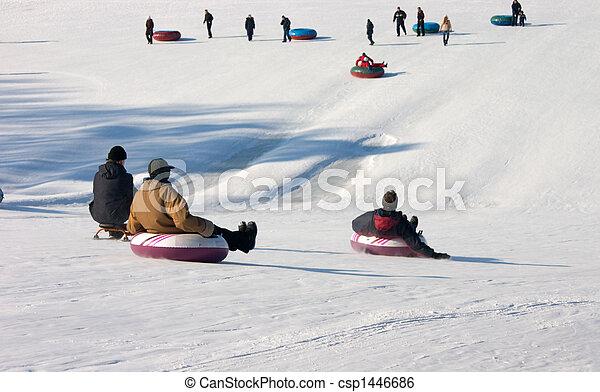 Sport in winter park