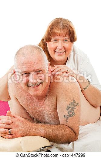casado masaje pequeño