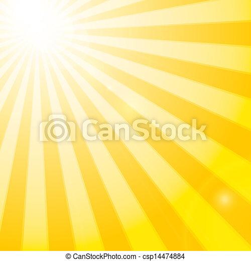Sun Shining Drawing Shining Sun in The Cloudy Blue
