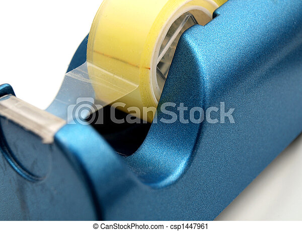 Blue tape dispenser - csp1447961