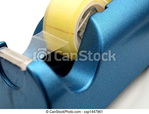Blue tape dispenser - csp1447961