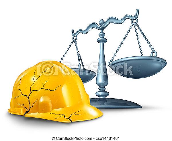 Construction Injury Law - csp14481481