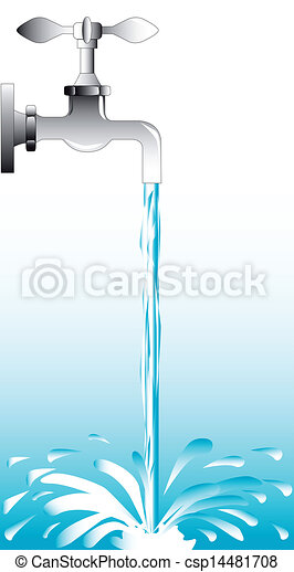 Flowing Water Graphic