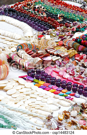 Jewelry - Necklaces and bracelets - csp14483124
