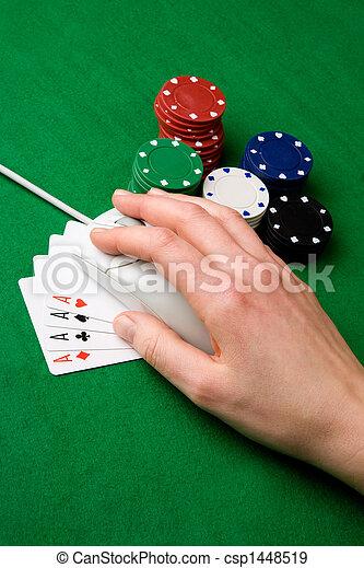 Online Gamble - csp1448519